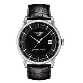 天梭 TISSOT Luxury Automatic系列机械男表T086.407.16.051.00